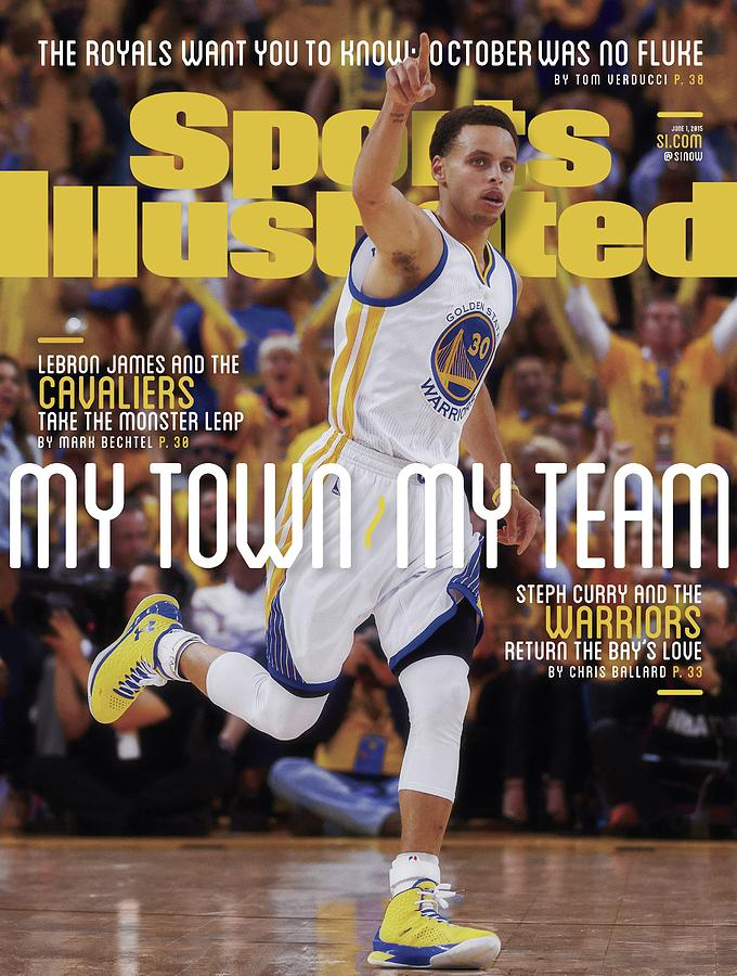 My Town, My Team Steph Curry And The Warriors Return The Sports Illustrated Cover Photograph by Sports Illustrated