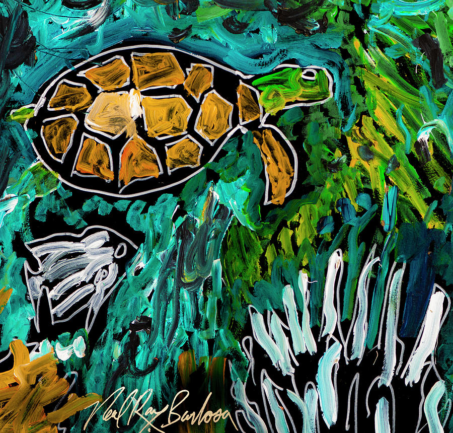 My Turtle by Neal Barbosa