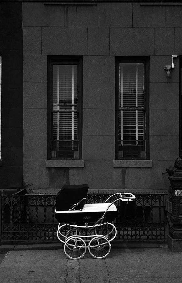 Myc Brownstone And Pram Photograph by I C Rapoport
