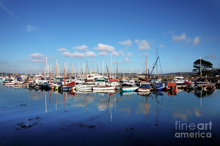 Mylor Harbour Cornwall Photograph