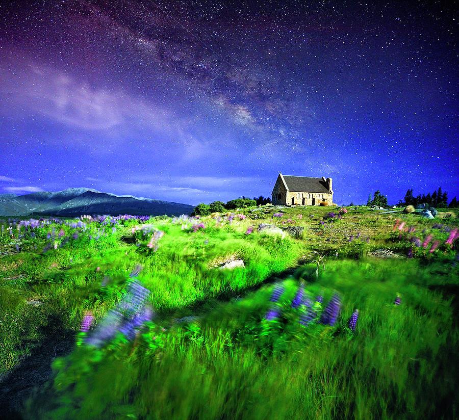Myriad Stars At Tekapo Photograph by Atomiczen