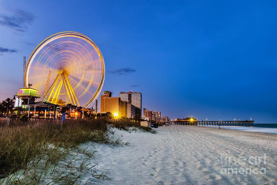 Usa Photograph - Myrtle Beach South Carolina Usa City by Rob Hainer