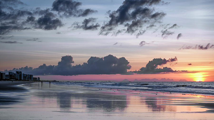 Myrtle Beach Sunrise #2 by Van Sutherland