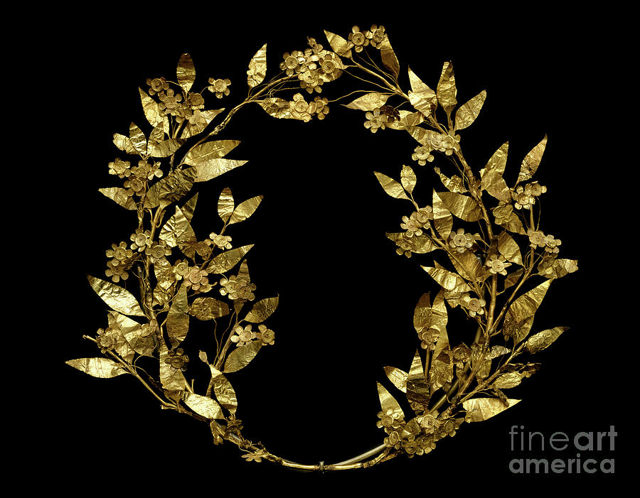 Myrtle Wreath, from Peloponnesus by Greek School