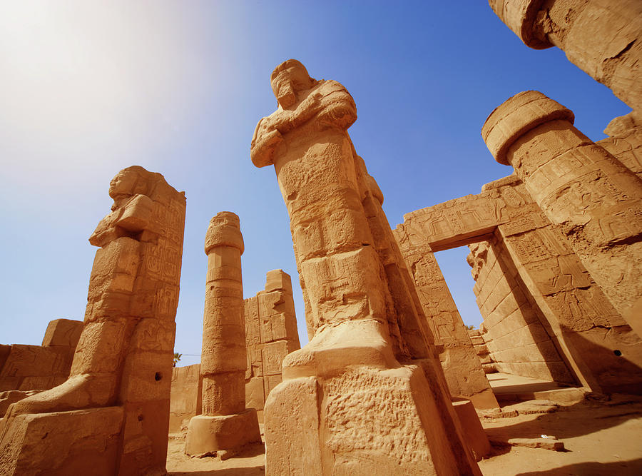 Mysterious Ancient Temple Ruins In Egypt Photograph by Fds111