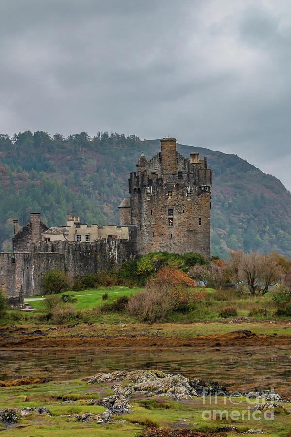 Mysterious Eilean Donan Castle Photograph