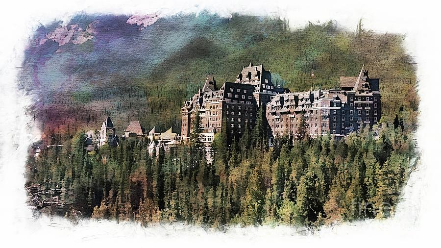 Mysterious Fairmont Banff Springs Resort by Joseph Hendrix