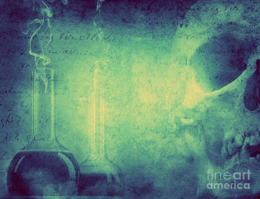 Magic Photograph - Mystery And Alchemy Background. Retro by Triff