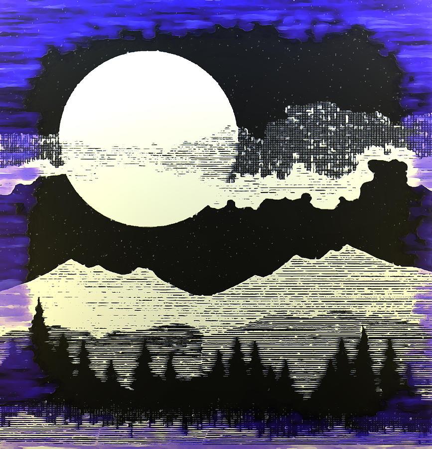 Mystery Moon by Mario Carini