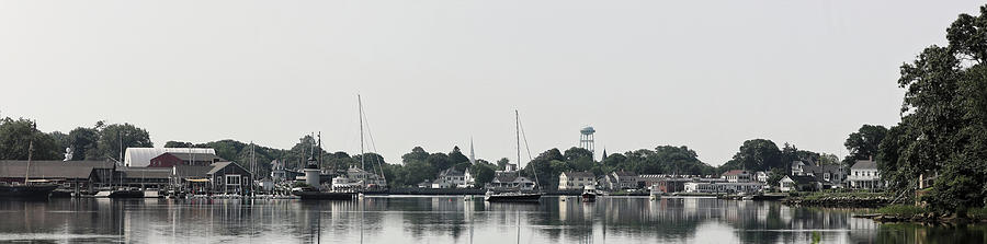 Mystic Harbor by Doolittle Photography and Art