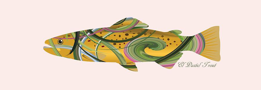 Mystic Trout Series- El Pastel Trout by Whispering Peaks Photography