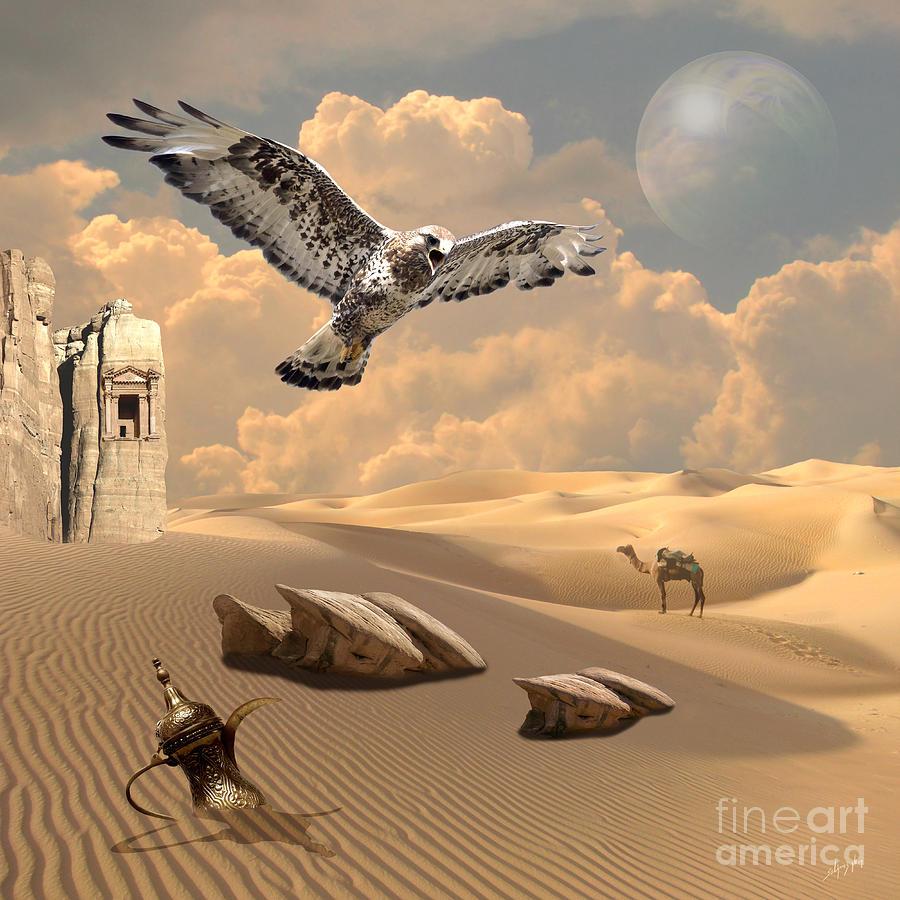 Mystica of desert by Alexa Szlavics
