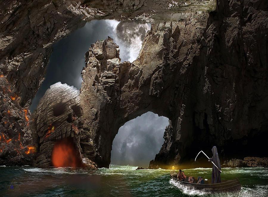 Mystical Cave by Carlene Smith