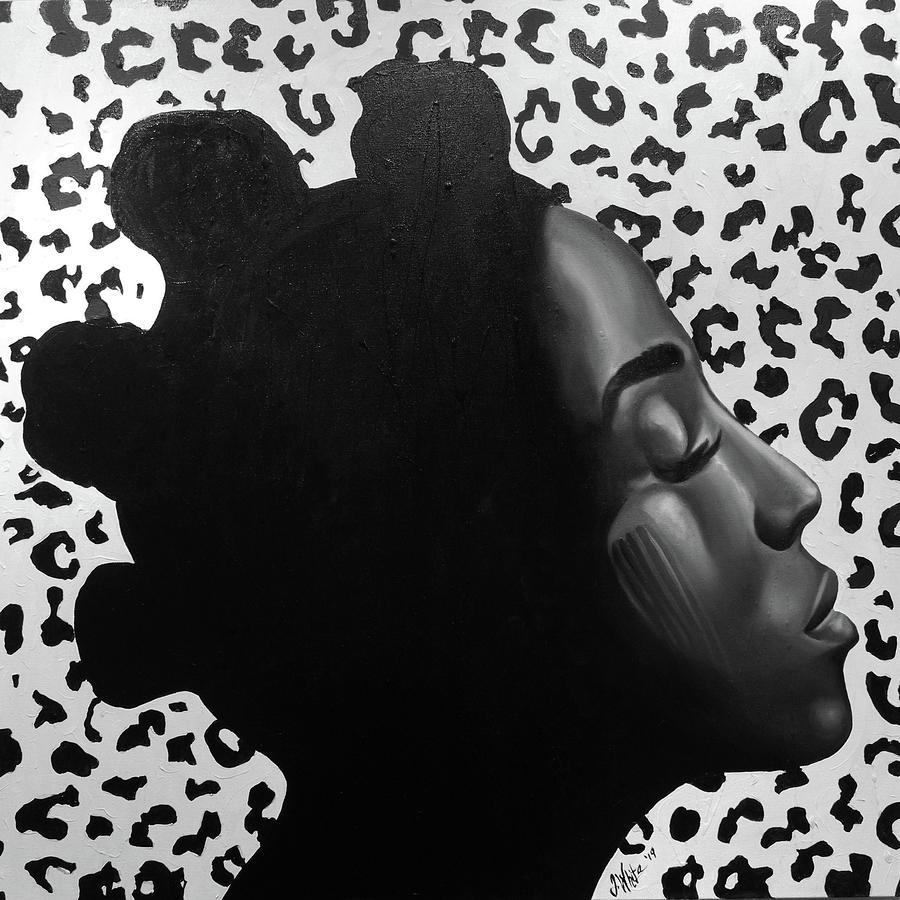 Mystique Painting - Mystique by Jerome White