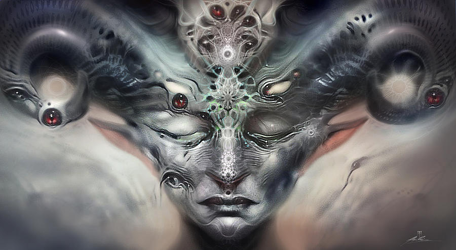 Myths And Dreams Digital Art