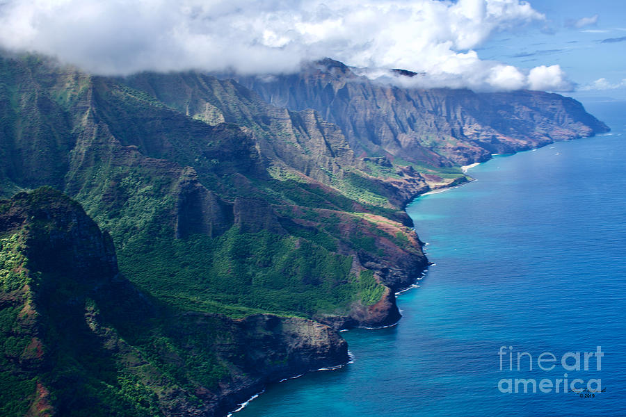 Na Pali Coast Southwest by Gary F Richards