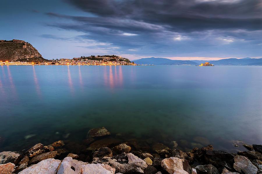 Sea Photograph - Nafplio by Andrei Dima