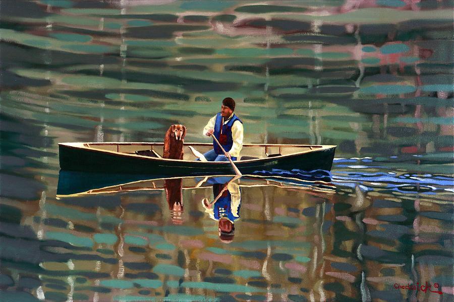 Naja and Friend by Phil Chadwick