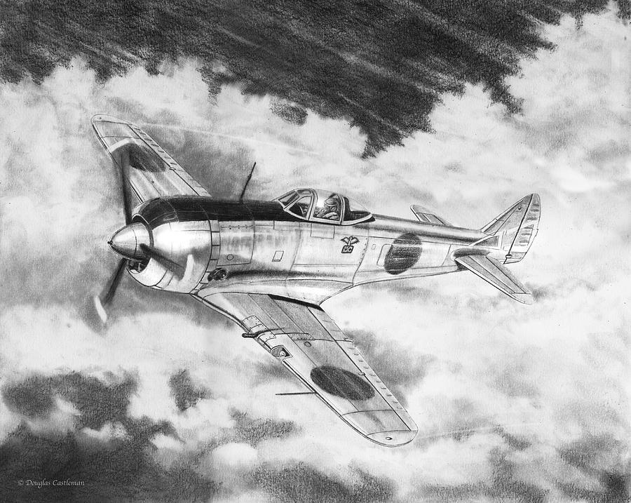 Nakajima Ki-44 by Douglas Castleman