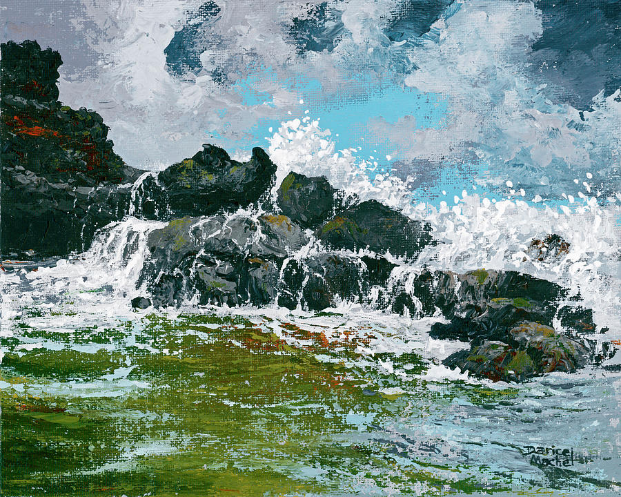 Nakalele Point by Darice Machel McGuire