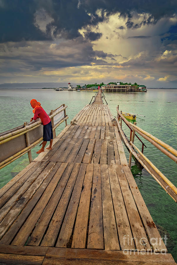 Nalusuan Island Philippines by Adrian Evans