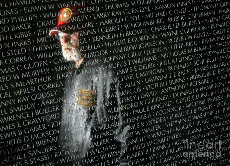 Names Of War Dead Read At Vietnam Photograph by Chip Somodevilla