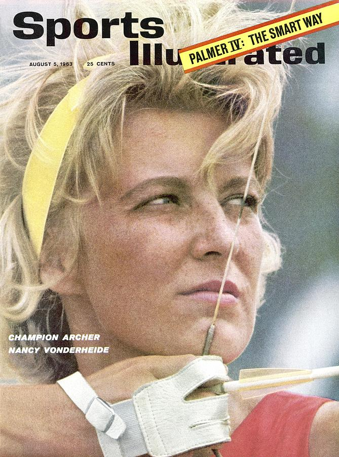 Nancy Vonderheide, Archery Champion Sports Illustrated Cover Photograph by Sports Illustrated