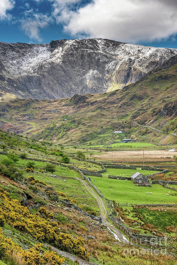 Nant Ffrancon Pass Wales by Adrian Evans