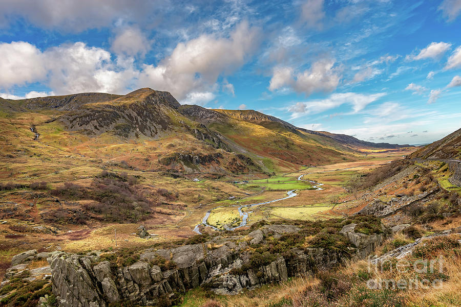 Nant Ffrancon Valley Wales by Adrian Evans