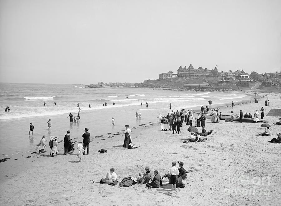 NANTASKET BEACH, c1905 by Granger