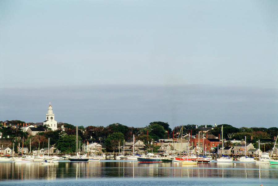 Nantucket Harbor, Nantucket, Ma Photograph by Lynn Eskenazi