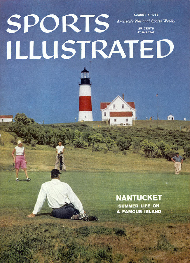 Nantucket Island Golf Sports Illustrated Cover Photograph by Sports Illustrated