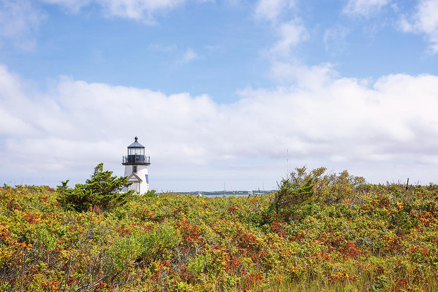 Nantucket Photograph - Nantucket Lighthouse by Lorrie Joaus