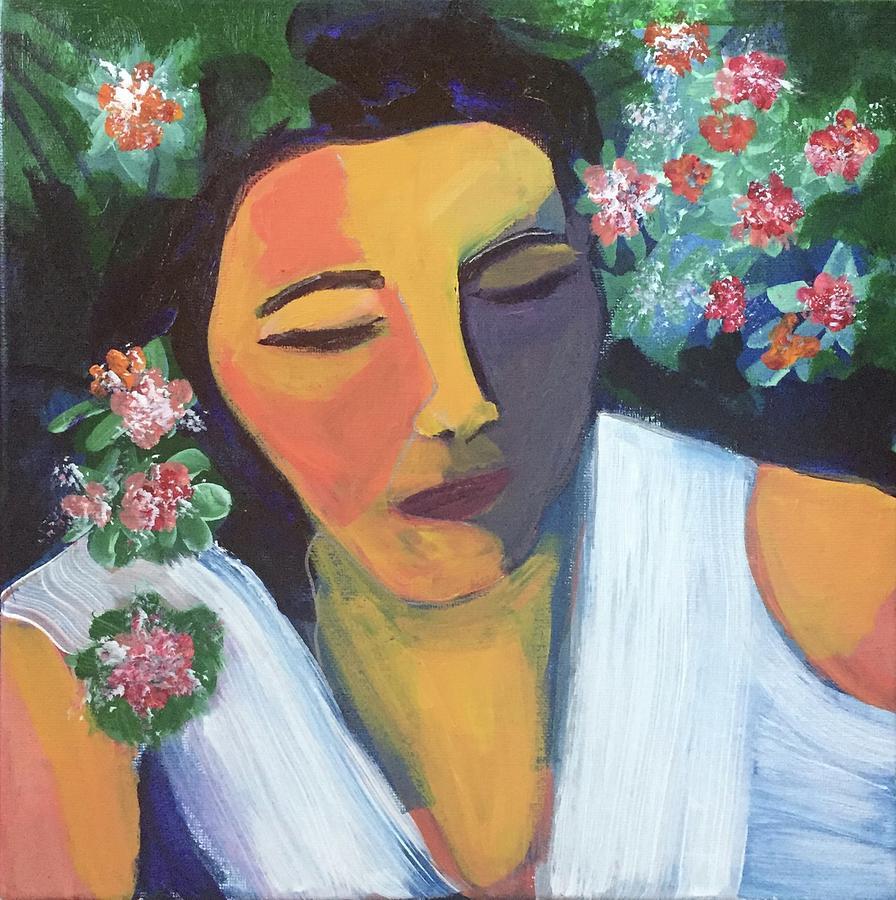 Nap in the Garden by Cherylene Henderson