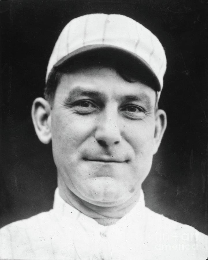 Nap Lajoie Portrait Photograph by Transcendental Graphics