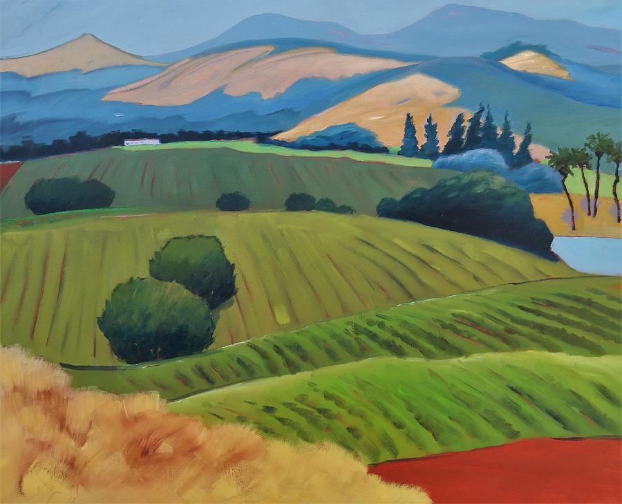 Napa with mo paint and mo trees by Gary Coleman
