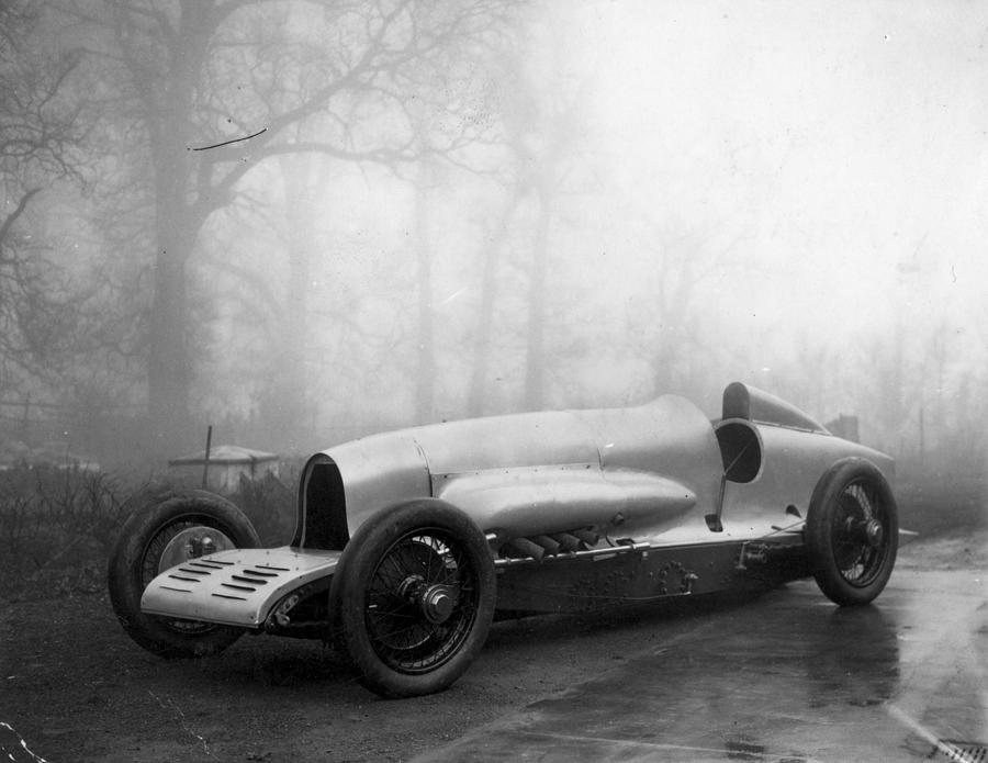 Napier Racing Car Photograph by E. Bacon