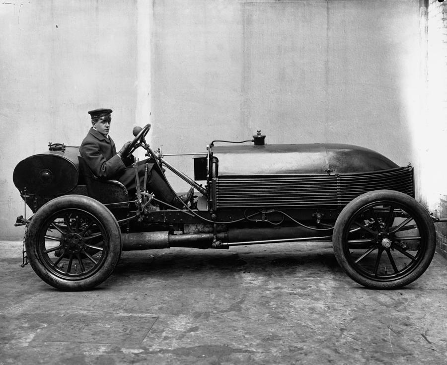 Napier Racing Car Photograph by London Stereoscopic Company