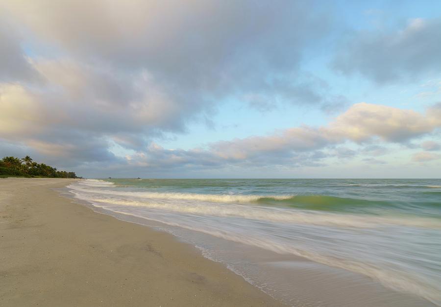 naples beach by Bill Martin