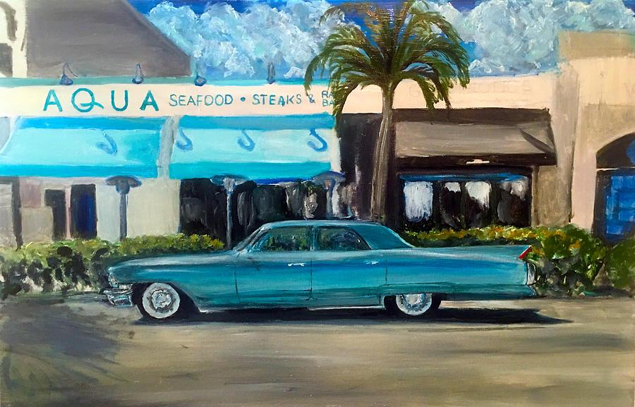 Naples Florida Painting - Naples Florida by Wayne Pearce