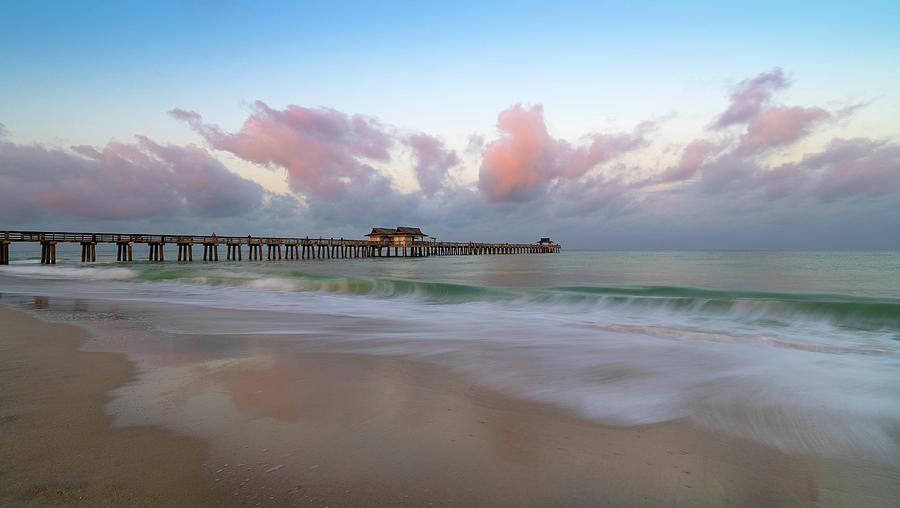 naples pier by Bill Martin