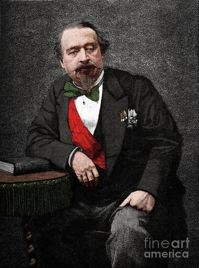 Napoleon IIi Drawing by Print Collector