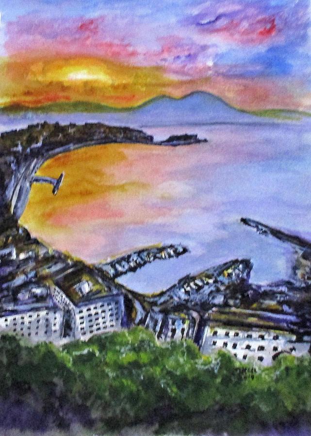 Napoli Sundown by Clyde J Kell