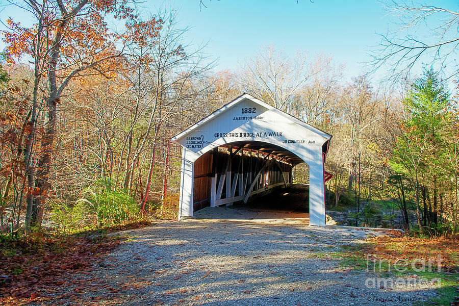 Narrows Covered Bridge by David Arment