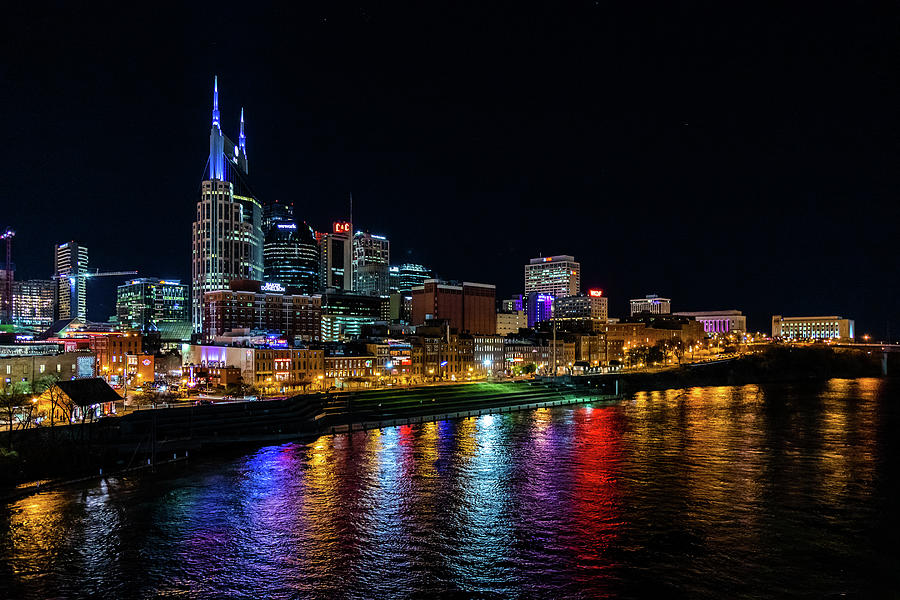 Nashville at Night by Rod Best