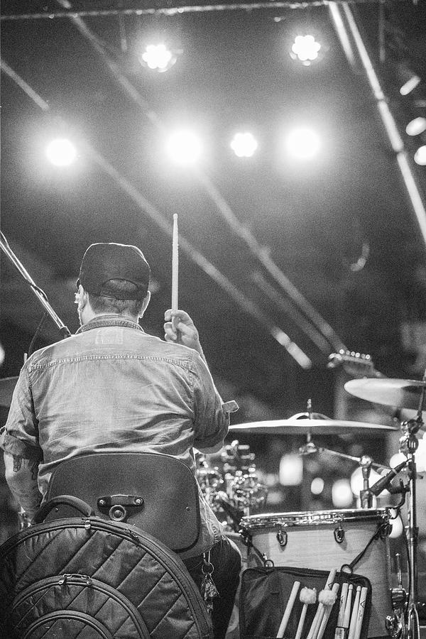 Nashville Tennessee Photograph - Nashville Drummer  by John McGraw