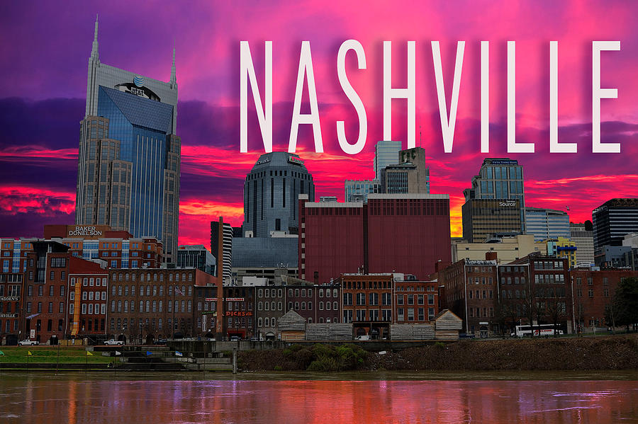 Nashville Digital Art - Nashville by Emily Warren