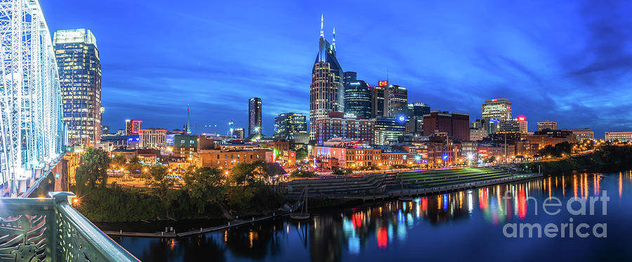 Nashville Night by David Smith