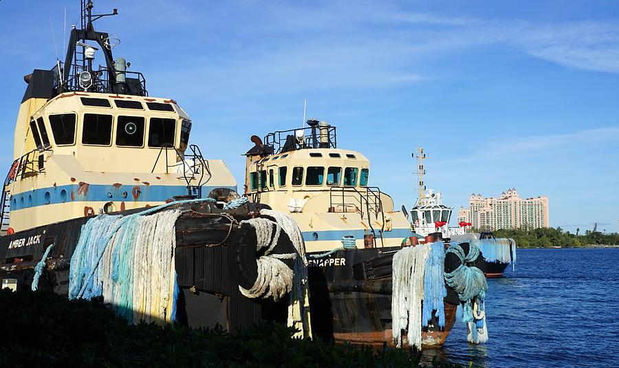 Nassau Tug Boats Photograph