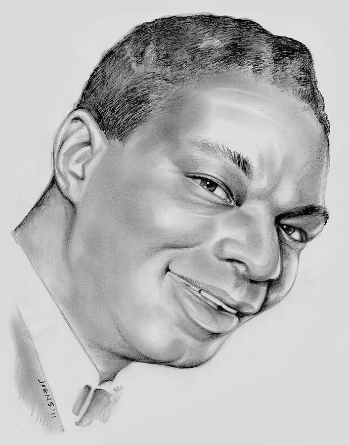 Nat King Cole by Greg Joens